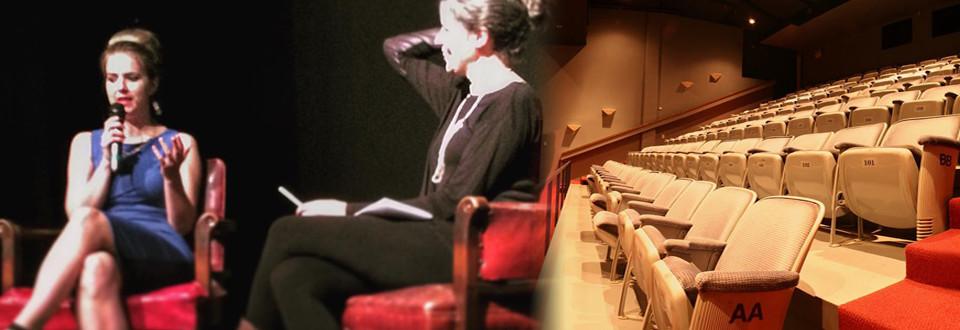 Leah's retrospective at Showcase Truro Film Festival